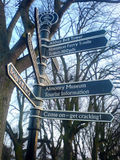 An instance of the fingerpost...