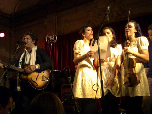 Ed Harcourt (and the Langley Sisters), Bush Hall, at The Unpleasant
