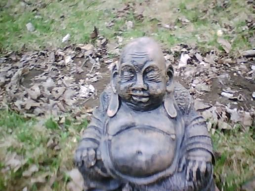 Our statue of buddha. well, technically, its hote