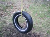 My old tire swing! we used to spin it up, and get on and spin until we were gonna barf. BarfGarf! oc