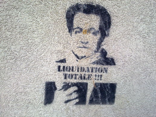 Sarkozy - seen in France