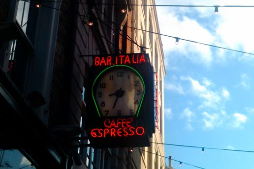 Bar Italia Greek street