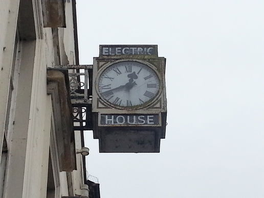 Electric house, above Blacks in Salisbury