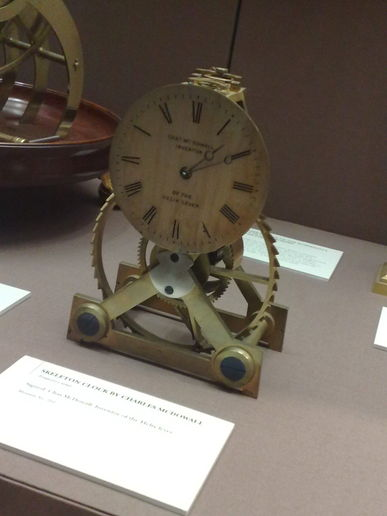 "Hundreds of ""stopped clocks"" at the Clocks Museum, Guildhall"