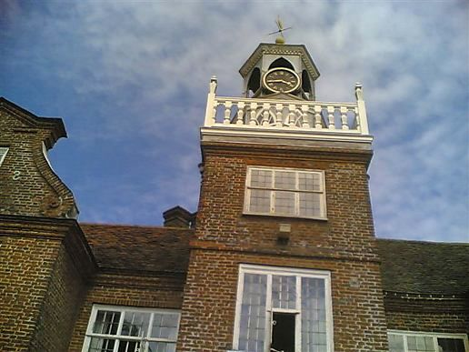 Rothamstead Manor-Stopped Clock