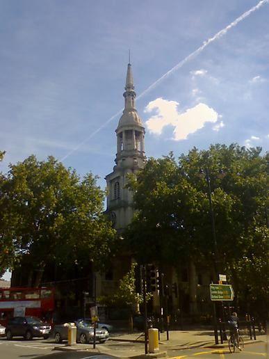 Shoreditch Church: Shoreditch St Leonards Church, At Stopped Clocks