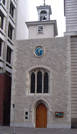 St Ethelburga's Church in London