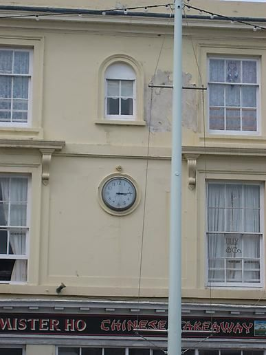 Stopped Clock, Bideford, Devon