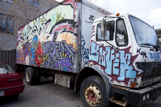 for earthlad, what happens to trucks in Toronto
