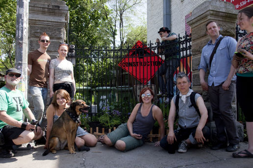 Guerilla gardeners and the High Park Elite Invasive Squad