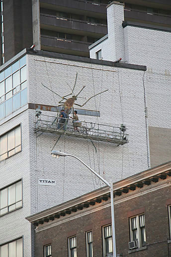 sure. go ahead. paint a giant mosquito there