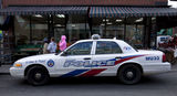 Toronto police car for Crickson