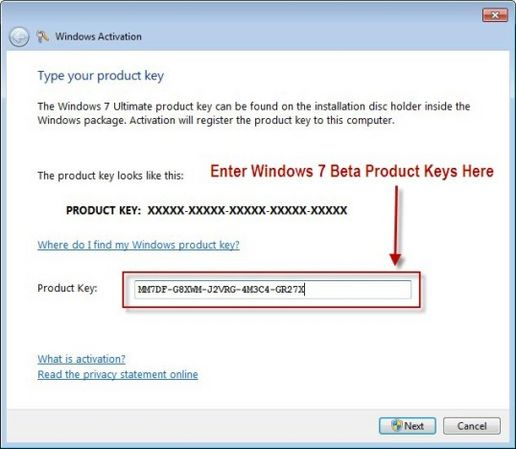 how to  windows activation key