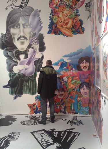 ALAN ALDRIDGE EXHIBITION AT THE DESIGN MUSEUM, LONDON