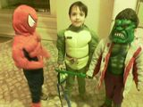 spider and his friends
