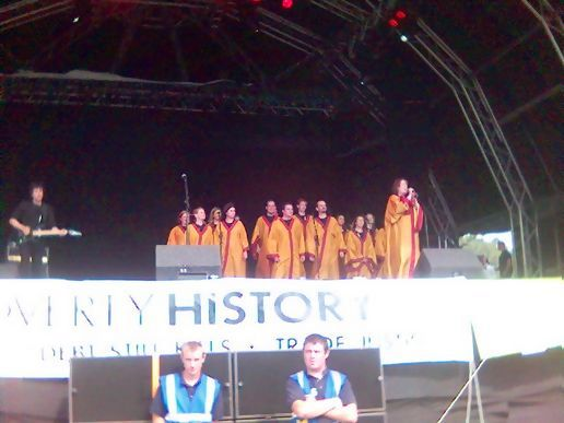 Dublin Gospel Choir at the Electric Picnic
