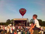 Balloons and crowd at Cornbury Festival 2005