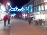 Christmas Eve in Worcester High Street