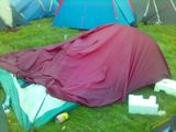 Shonky tent erection