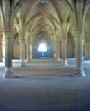 cloisters, university of glasgow