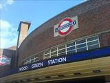 Wood Green station, 0955
