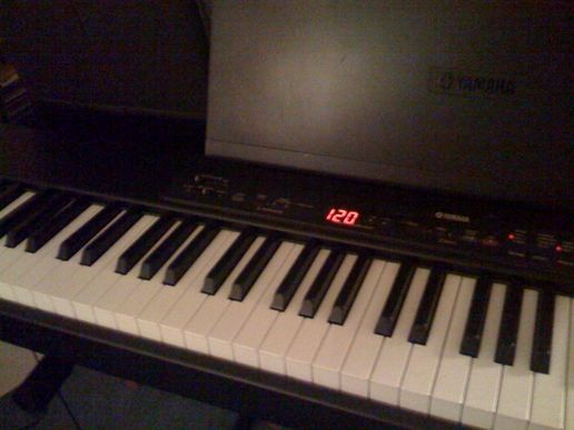 My keyboard at home...