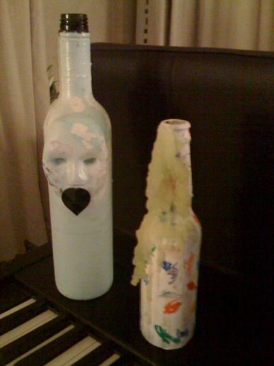 Julie Verhoeven's bottles...