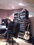 Andy Bradfield's studio today