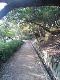 quiet path in Akashi Castle