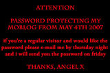 ATTENTION - password protecting moblog