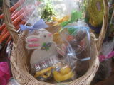 Crafting Easter Baskets with Bunny