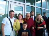 His Holiness the 14th Dalai Lama and me