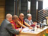 "His Holiness the 14th Dalai Lama give a public talk at the University of Warsaw on ""Value of Education & Universal Responsibilit"