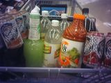 I accidentally went grocery shopping while thirsty.