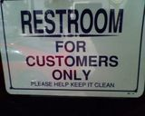 I guess they like the general public better than their customers