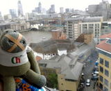 Munkeh @ the top of the Tate