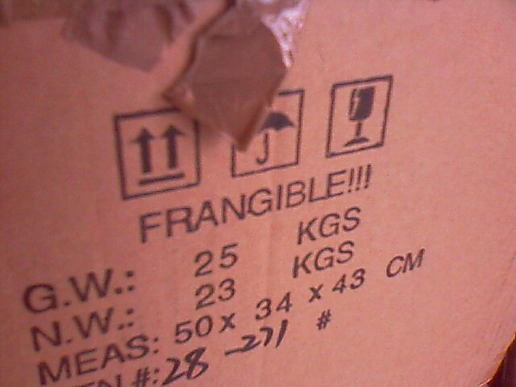 Frangible! -  A New Word...