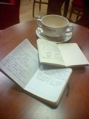 journals & coffee