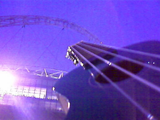 Ukulele at Wembley!