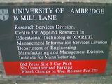 The university of Ambridge