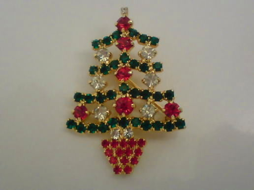 Christmas Brooch