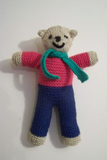 Knitted Character