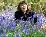 Bluebells out in MAC's wood