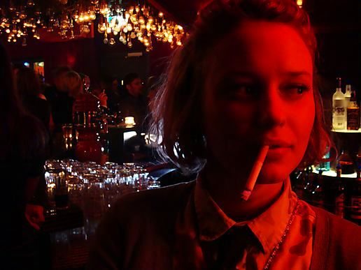 Lady Sternli, a cigarette & the Red Light District