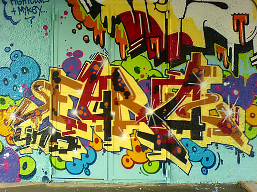 More graffiti - Zurich