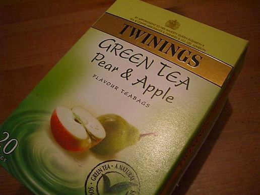 Green Tea with Apple & Pear