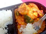 Prawn Curry for lunch