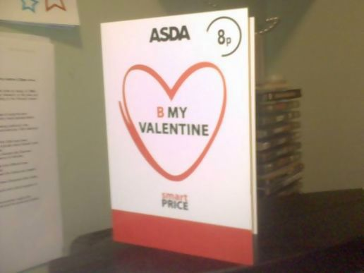 Why bother saying i love you with an expensive card...