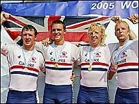 2006 Rowing World Cup - Gold in Pozan,, Munich...