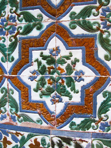 Alhambra - more wall tiles